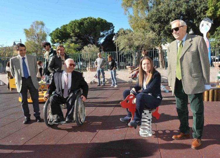 Con la Fondazione Ca.Ri.Civ. nuovi giochi al parco del Pincio