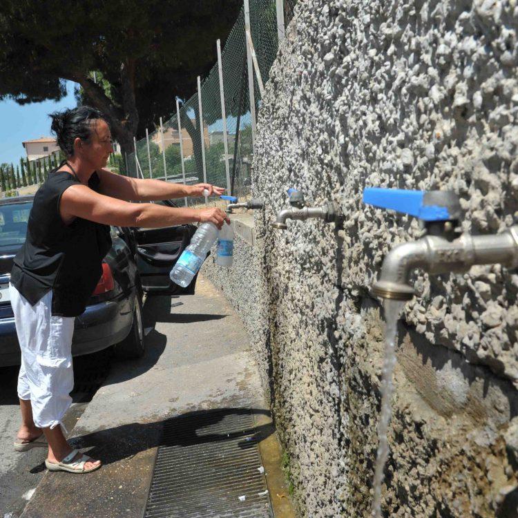 Acqua non potabile nemmeno previa bollitura