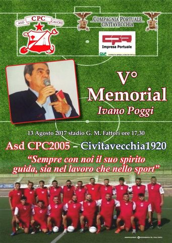 La Cpc2005 prepara il Memorial Ivano Poggi