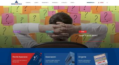 È on line il nuovo portale di Manageritalia
