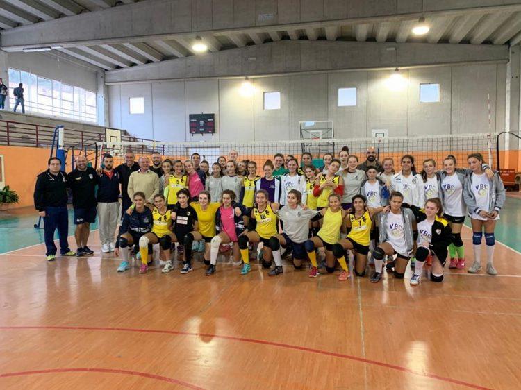 La Volley Academy si diverte a Tolfa prima dell'inizio della stagione