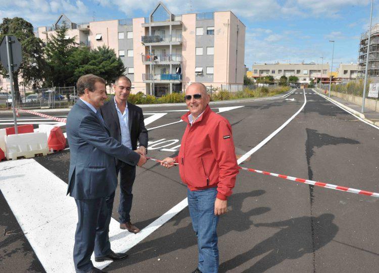 San Liborio, inaugurata una nuova strada
