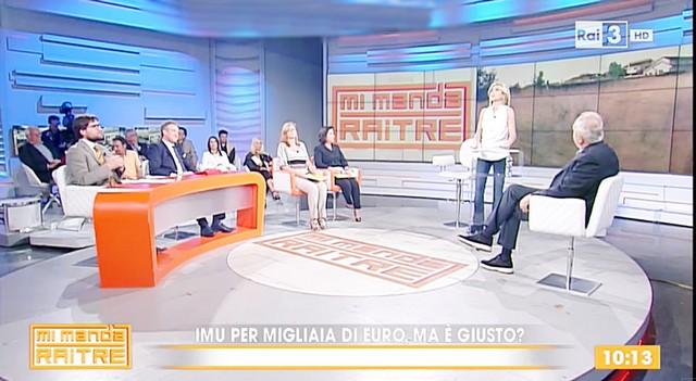 Fiumicino, il caso-Imu finisce in Rai