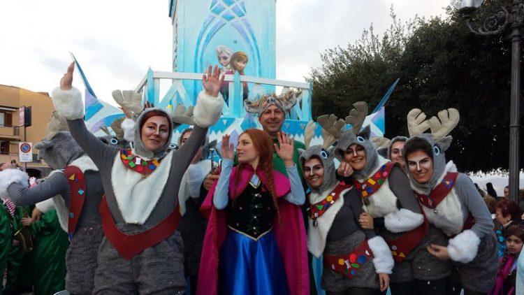 A Tolfa è tempo di carri: torna a sfilare il Carnevale