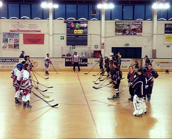 La Cv Skating sbanca 5-3 il campo delle Devil Girl Vicenza
