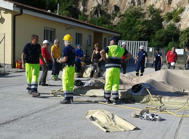 Studenti di Allumiere a lezione per gestire la situazione in caso di terremoto