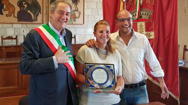 Sport, premiata la campionessa di tiro con l'arco Anastasia Anastasio