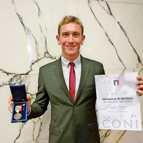 Damiano Lestingi mette un altro premio in bacheca