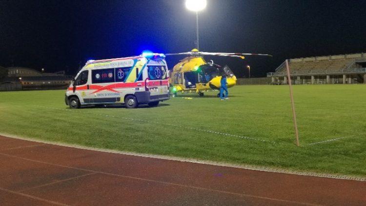 Montalto, si ferisce al braccio con una motosega: 72enne trasferito in elicottero al Gemelli