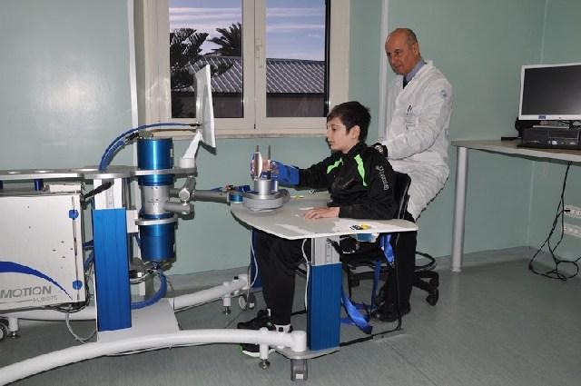 Presentati al Bambin Gesù i nuovi robot ''Arm'' e ''Wrist'' dedicati alla neuroriabilitazione
