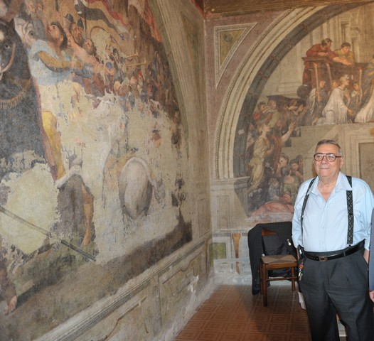 "Tarcisio De Paolis: ""Visite ai dipinti per raccogliere fondi per i terremotati"""