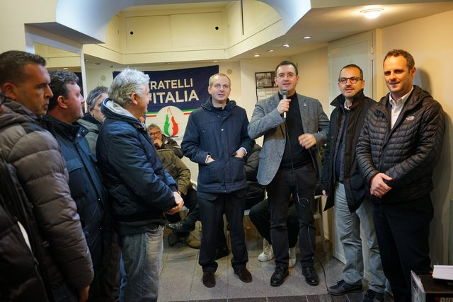 Inaugurata alla presenza di Quarzo e Battilocchio la sede Almirante di FdI