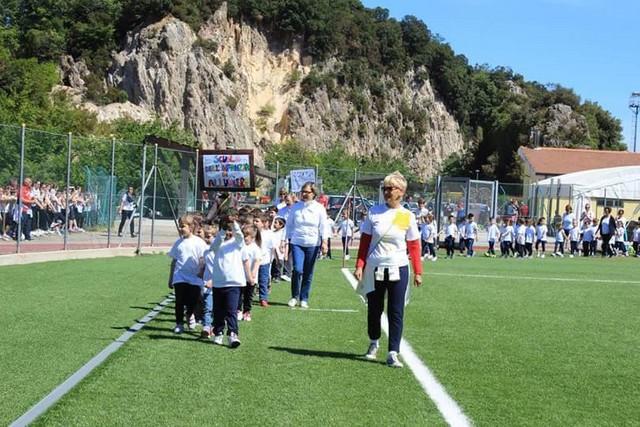 Affollata e riuscita la ''Festa dello Sport'' promossa dall'Istituto Comprensivo di Tolfa e Allumiere