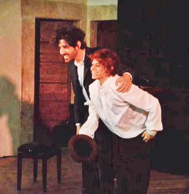 Valentina Cognati interpreta il monologo di ''Novecento''