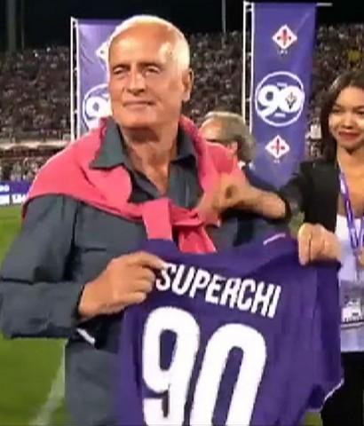 Franco Superchi riabbraccia la Viola