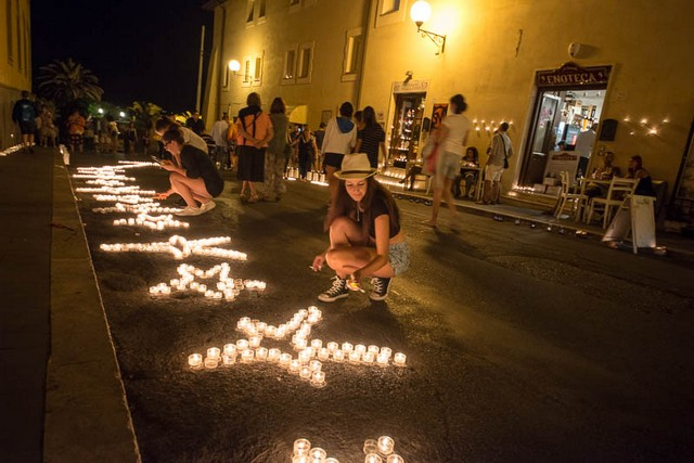 Grande successo per la prima edizione della notte delle candele
