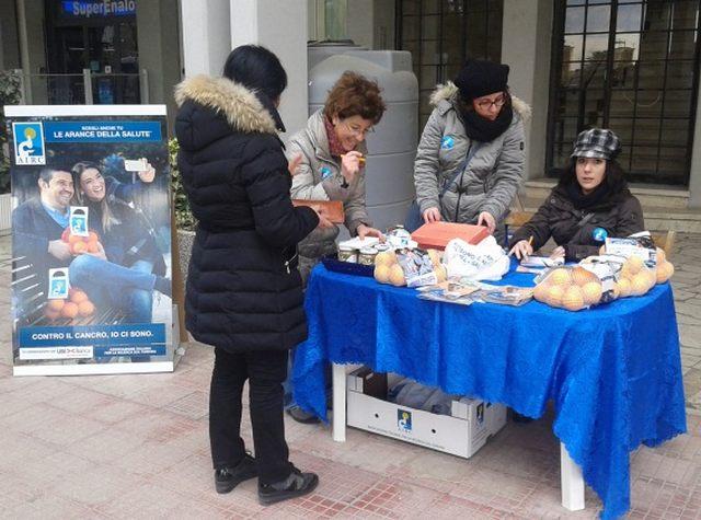 Airc, volontari mobilitati anche nella Perla
