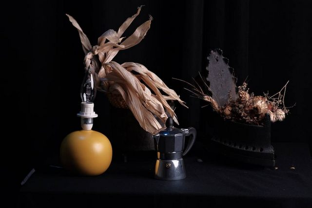 La caffettiera (foto Angelo Bonarelli)