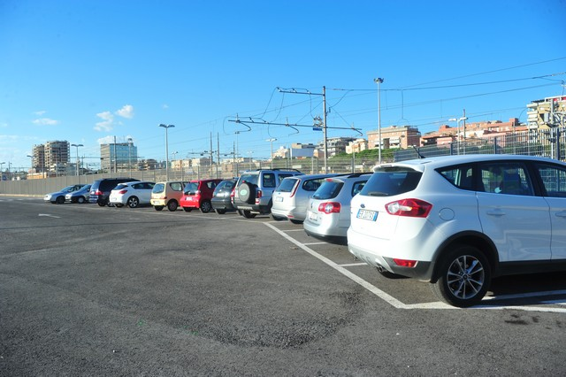 Civitavecchia, aperto il parcheggio Fs