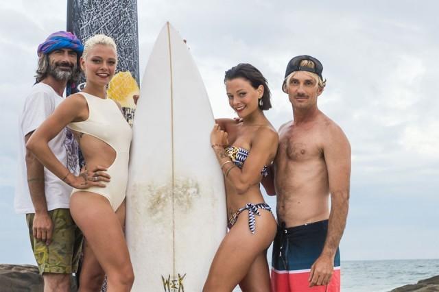 Alessandro Marcianò in tv con ''Italian Pro Surfer''