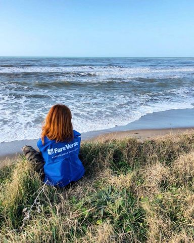 Mare d'inverno, si pulisce la spiaggia di San Giorgio