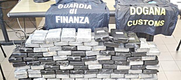 Stroncato traffico di cocaina