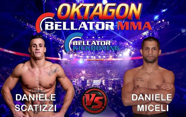 Oktagon Bellator MMA: Scatizzi sfida Miceli nella categoria 77 kg