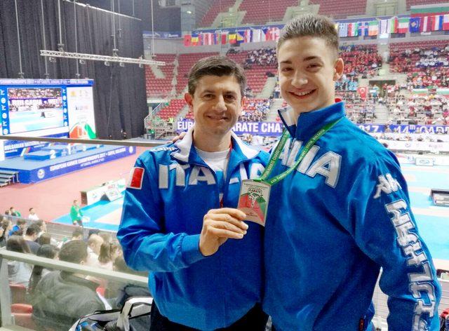 Mirko Barreca è bronzo Europeo