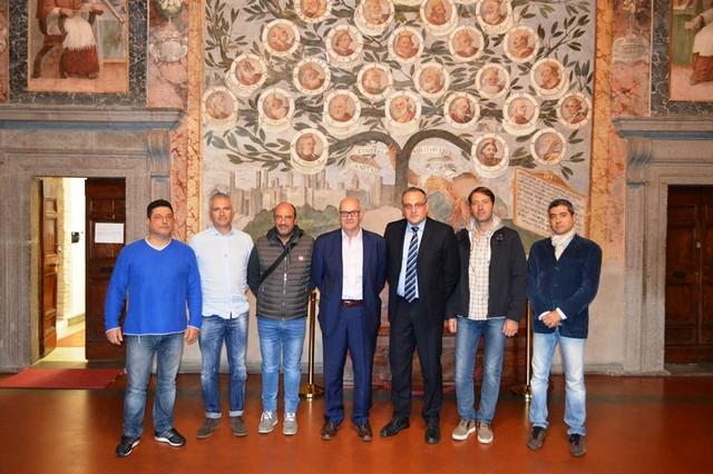 Il sindaco Mazzola incontra una delegazione provinciale del Sap