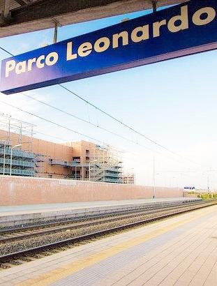 La stazione di Parco Leonardo? È di Fiumicino