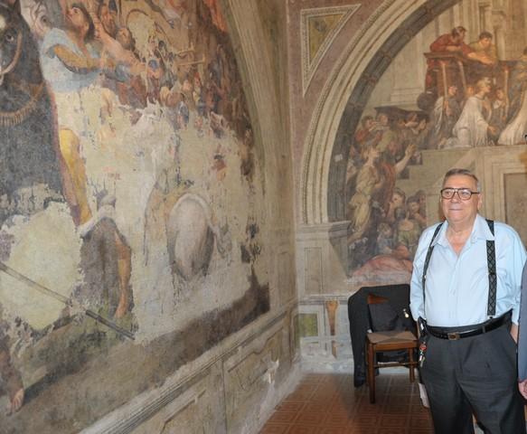 Doppio convegno sui dipinti di piazza Leandra