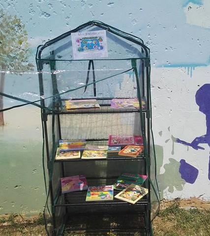 Spunta una mini biblioteca a misura di bambino