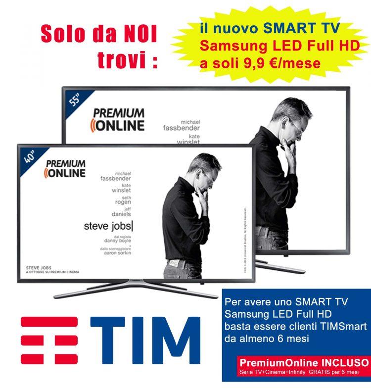 Smart tv con tecnologia led full Hd: eccezionale offerta al negozio Tim di corso Centocelle
