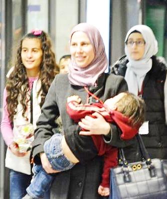 Fiumicino, altri 40 profughi