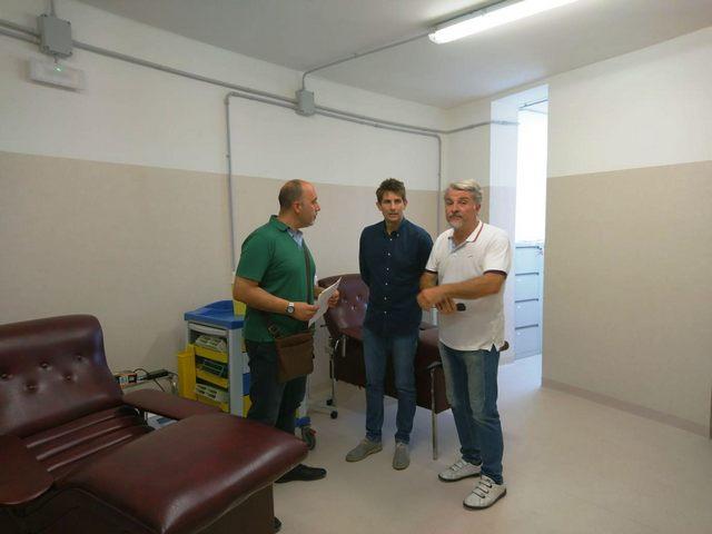 Tarquinia, visita all'Avis del vicesindaco Manuel Catini