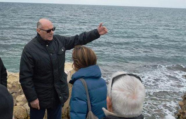 Sopralluogo del sindaco Mazzola a Porto Clementino