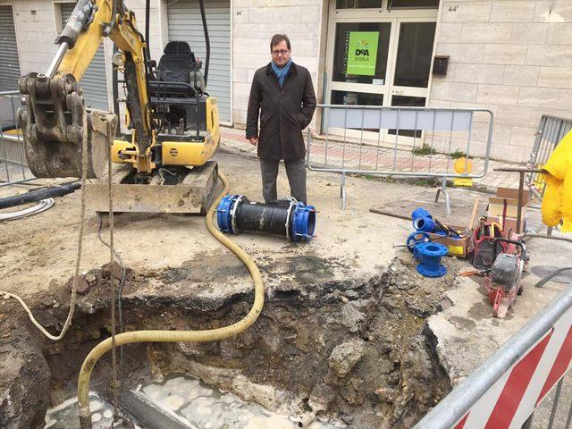 """Ceccarelli: """"Continua il lavoro per dare un'alimentazione idrica più stabile alla zona"""""""