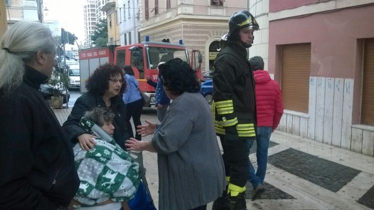 Via Regina Elena: palazzina evacuata