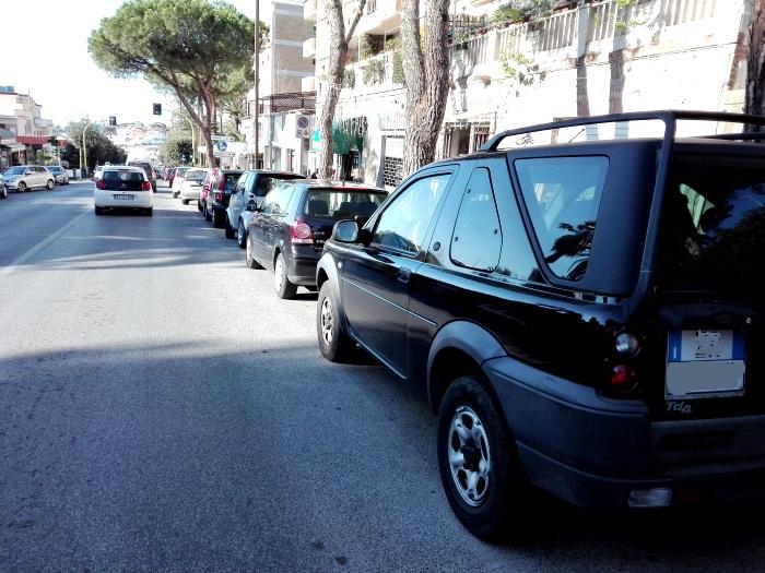Parcheggi S. Marinella, ripristinata la sosta oraria in centro