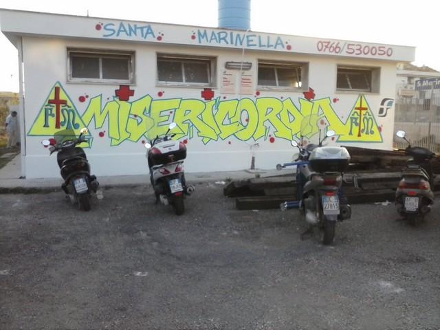 Atti vandalici alla Misericordia