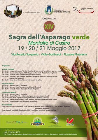 Sagra dell'asparago verde di Montalto, tre giorni tra i sapori della Maremma
