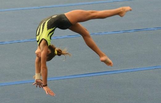 Giulia Cotroneo sul gradino più alto del podio