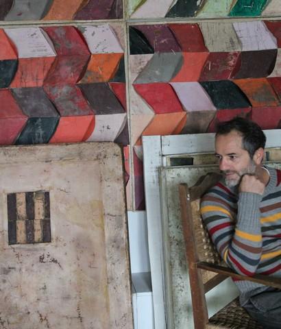 Tarquinia, le opere dell'artista tarquiniese Marco Ferri alla Banca d'Italia