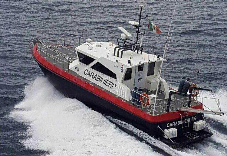 Carabinieri: 5000 euro di sanzioni per violazioni marittime