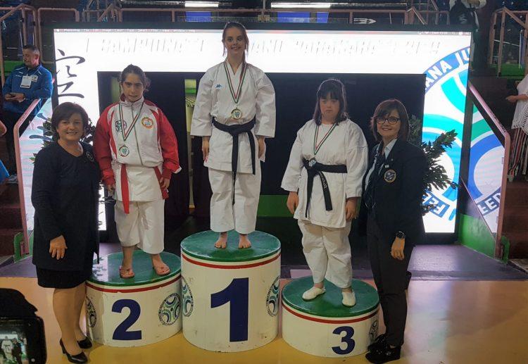 Vittoria Gigliotti vince l'argento al 2° campionato italiano di Para-Karate