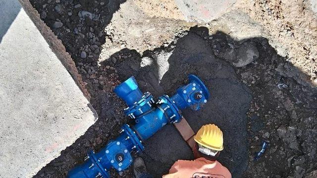 Lavori sulla condotta idrica: interruzione del flusso a Marina Velca