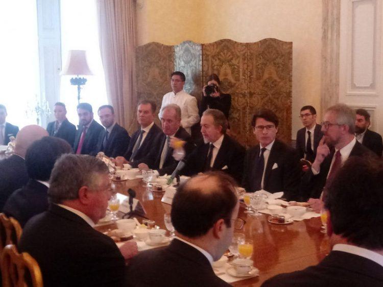 Adsp, di Majo a Londra per presentare i piani di sviluppo del network di Roma e del Lazio