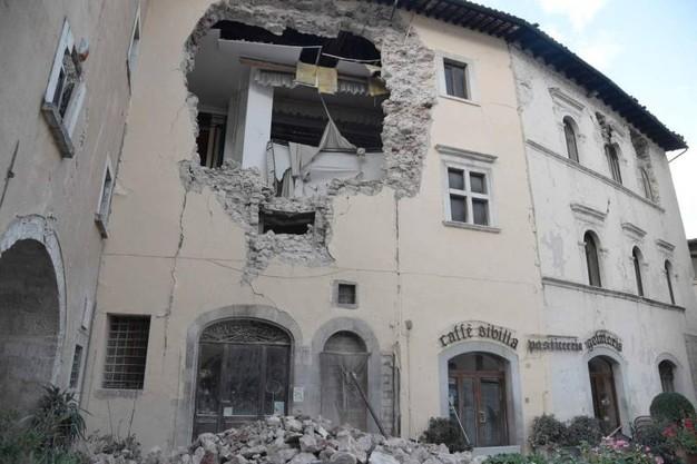 Terremoto, Tarquinia col fiato sospeso per le sorti di Visso