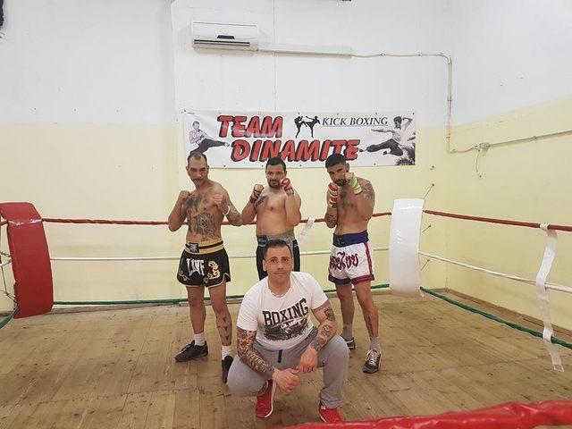 Team Dinamite al ''Revenge Fighting Championship''