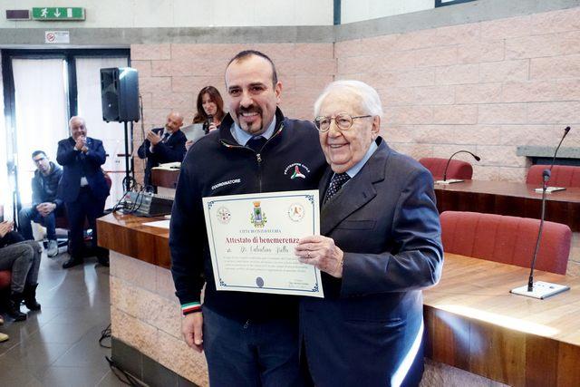 Vent'anni di protezione civile: volontariato in prima linea